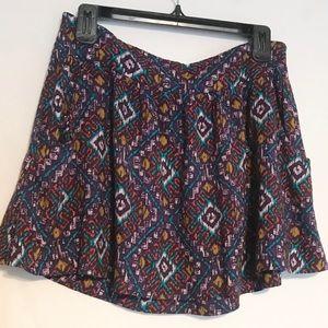 Forever 21 Printed Skirt Size Medium